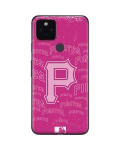 Pittsburgh Pirates - Pink Cap Logo Blast Google Pixel 5 Skin