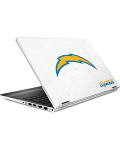 Los Angeles Chargers Distressed HP Pavilion Skin