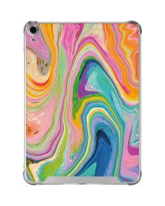 Rainbow Marble iPad Air 10.9in (2020) Clear Case