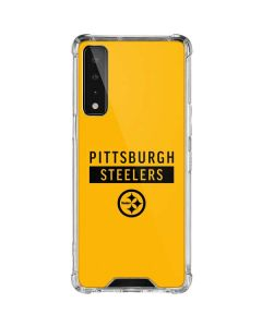 Pittsburgh Steelers Yellow Performance Series LG Stylo 7 5G Clear Case