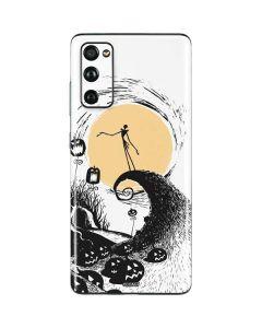 Jack Skellington Pumpkin King Galaxy S20 Fan Edition Skin