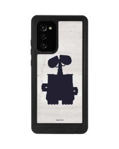 WALL-E Silhouette Galaxy Note20 5G Waterproof Case