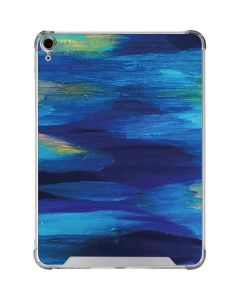Ocean Blue Brush Stroke iPad Air 10.9in (2020) Clear Case