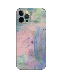 Rose Quartz & Serenity Abstract iPhone 12 Pro Max Skin