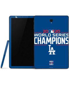 2020 World Series Champions LA Dodgers Samsung Galaxy Tab Skin