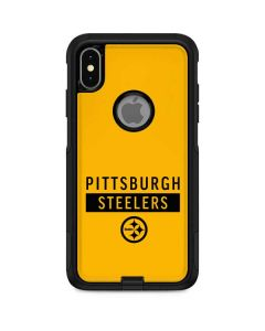 Pittsburgh Steelers Yellow Performance Series Otterbox Commuter iPhone Skin