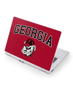 Georgia Bulldogs Acer Chromebook Skin