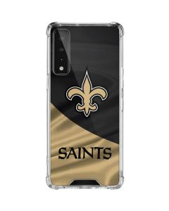 New Orleans Saints LG Stylo 7 5G Clear Case