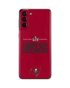 Super Bowl LV Champions Tampa Bay Buccaneers Galaxy S21 Plus 5G Skin