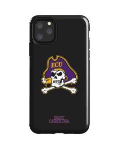 East Carolina Black iPhone 11 Pro Max Impact Case
