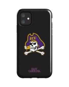 East Carolina Black iPhone 11 Impact Case