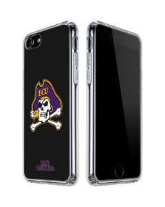 East Carolina Black iPhone SE Clear Case