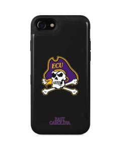 East Carolina Black iPhone SE Wallet Case