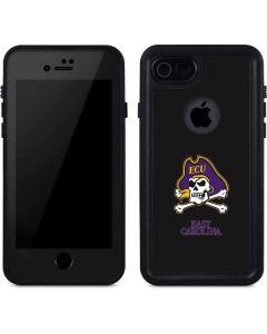 East Carolina Black iPhone SE Waterproof Case