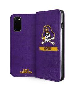 East Carolina Pirates Galaxy S20 Folio Case