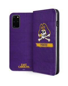 East Carolina Pirates Galaxy S20 Plus Folio Case