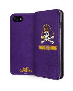 East Carolina Pirates iPhone SE Folio Case