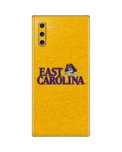 East Carolina Yellow Galaxy Note 10 Skin
