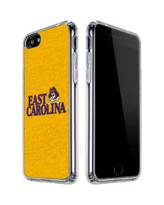 East Carolina Yellow iPhone SE Clear Case