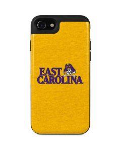 East Carolina Yellow iPhone SE Wallet Case