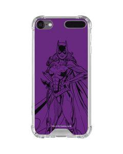 Batgirl Comic Pop iPod Touch (5th-6th-7th Gen) Clear Case