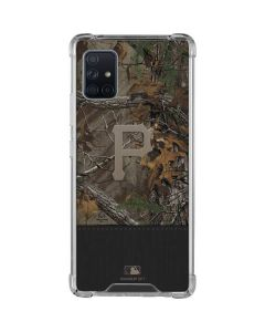 Pittsburgh Pirates Realtree Xtra Camo Galaxy A51 5G Clear Case