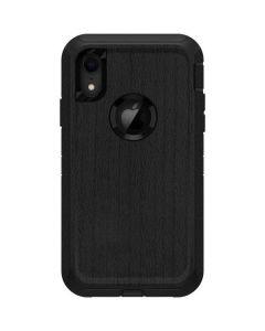 Ebony Wood Otterbox Defender iPhone Skin