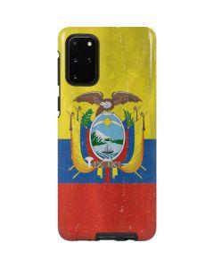 Ecuador Flag Distressed Galaxy S20 Plus Pro Case