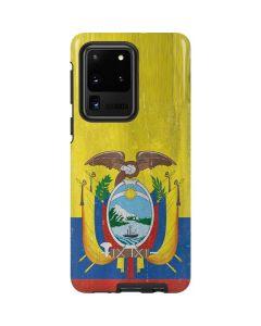 Ecuador Flag Distressed Galaxy S20 Ultra 5G Pro Case