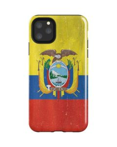 Ecuador Flag Distressed iPhone 11 Pro Max Impact Case
