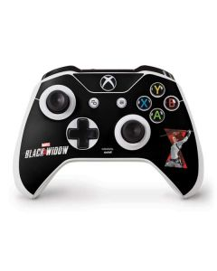 Black Widow Fighting Xbox One S Controller Skin
