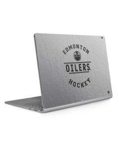 Edmonton Oilers Black Text Surface Book 2 15in Skin