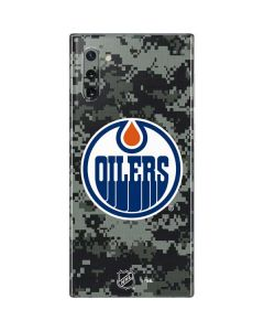 Edmonton Oilers Camo Galaxy Note 10 Skin