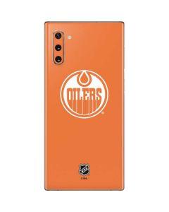 Edmonton Oilers Color Pop Galaxy Note 10 Skin