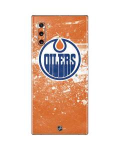 Edmonton Oilers Frozen Galaxy Note 10 Skin