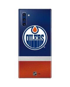 Edmonton Oilers Jersey Galaxy Note 10 Skin