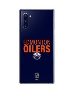 Edmonton Oilers Lineup Galaxy Note 10 Skin