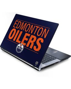 Edmonton Oilers Lineup Generic Laptop Skin