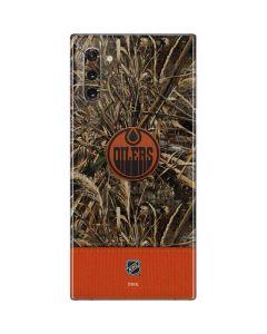 Edmonton Oilers Realtree Max-5 Camo Galaxy Note 10 Skin