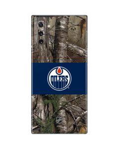 Edmonton Oilers Realtree Xtra Camo Galaxy Note 10 Skin