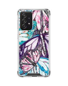 California Monarch Collage Galaxy A52 5G Clear Case