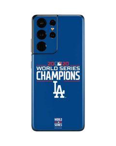 2020 World Series Champions LA Dodgers Galaxy S21 Ultra 5G Skin