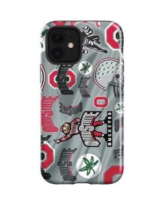 Ohio State Pattern iPhone 12 Case
