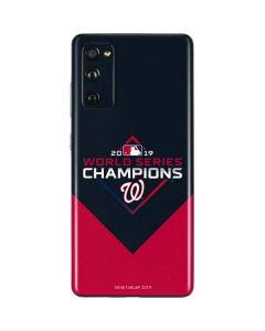 Washington Nationals 2019 World Series Champions Galaxy S20 Fan Edition Skin