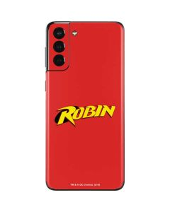 Robin Official Logo Galaxy S21 Plus 5G Skin