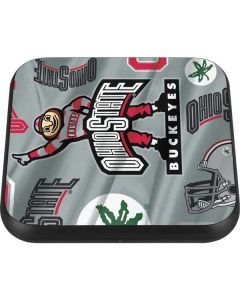 Ohio State Pattern Wireless Charger Single Skin