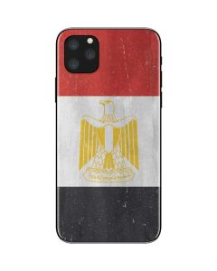 Egypt Flag Distressed iPhone 11 Pro Max Skin