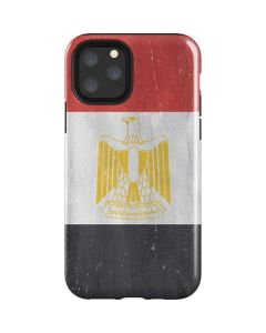 Egypt Flag Distressed iPhone 11 Pro Impact Case