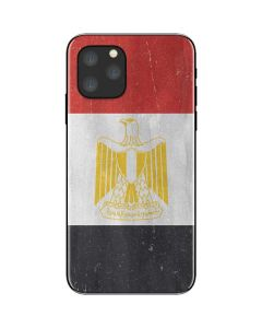 Egypt Flag Distressed iPhone 11 Pro Skin