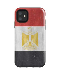 Egypt Flag Distressed iPhone 11 Impact Case